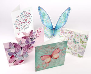 butterfly greeting card collection