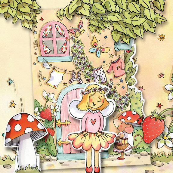 Fairy Greeting Cards & Stationery including Pop-Up Fairy Greeting Card!