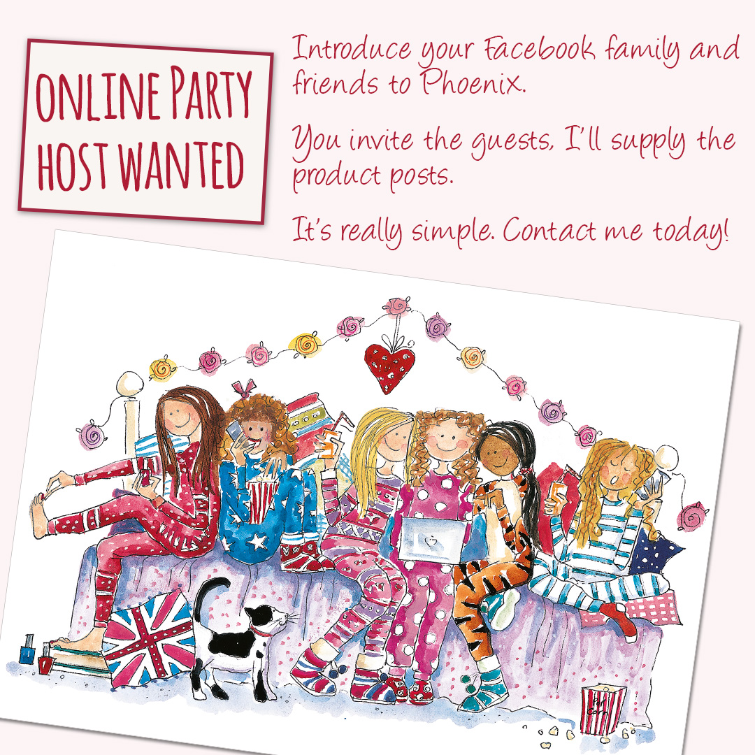Phoenix Trading online party hosts wanted must love cute stationery