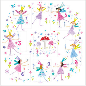 fairy wishes birthday countdown greeting card