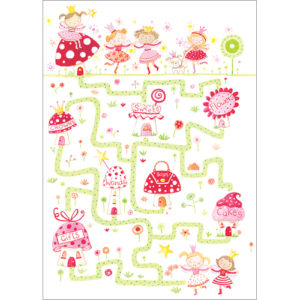 find the fairy greeting card A101