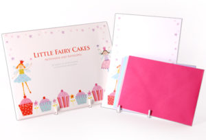 little fairy cakes stationery wallet rbs47