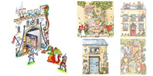 3D pop up pop out greeting cards