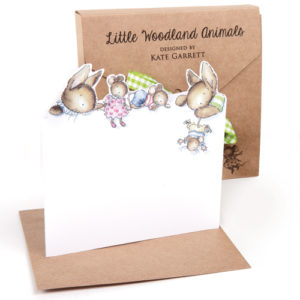 GP06 woodland animals notecard boxed set