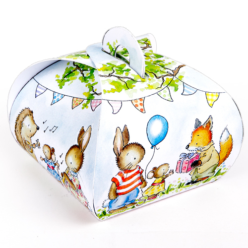 Little Woodland Animals Mini Gift Boxes SP52
