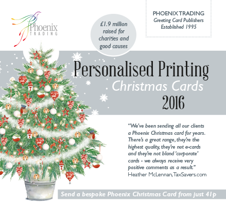Order Company Christmas Cards 2106