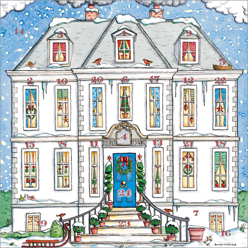 Country House Phoenix Trading Advent Calendar