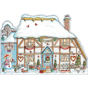 XP15 Christmas Cottage card
