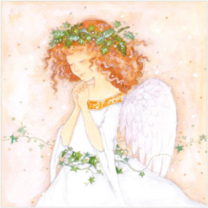 XR33 Little Angel religious christmas card