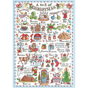 XS03 A to Z Christmas card