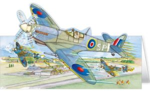 DC71 Spitfire greeting card Phoenix Trading
