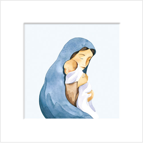 Madonna Religious Christmas Cards XS15