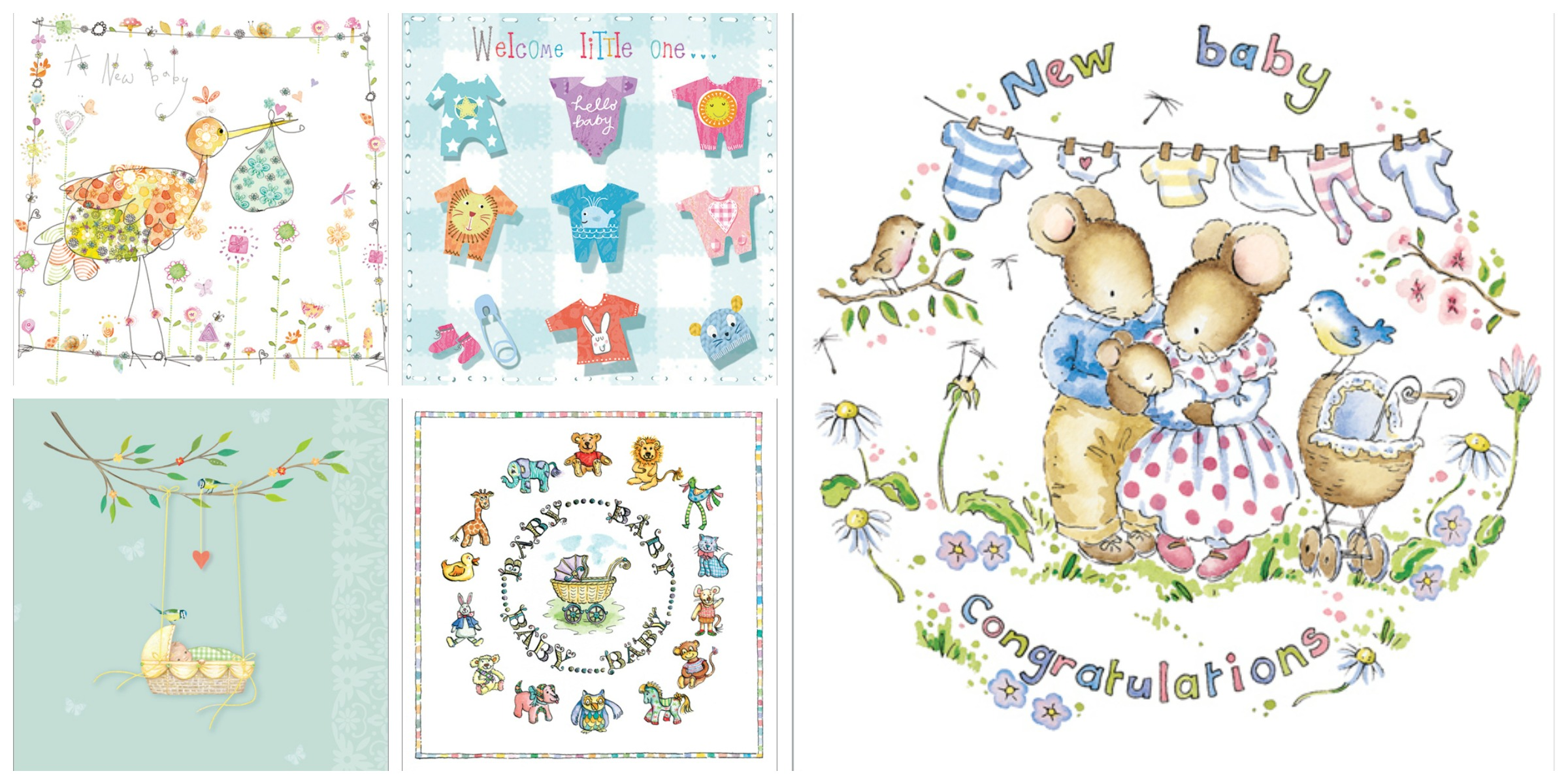 New Baby Greeting Cards Phoenix Trading