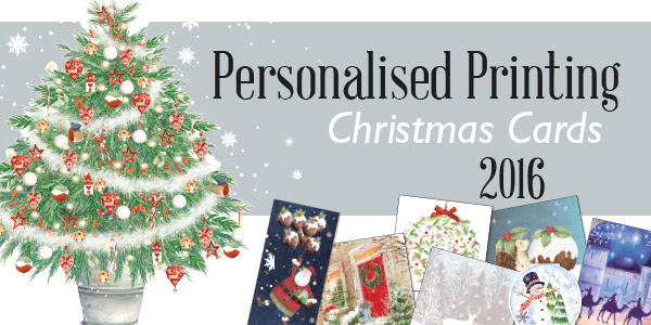 Personalised Printing of Corporate Christmas Cards for Clients