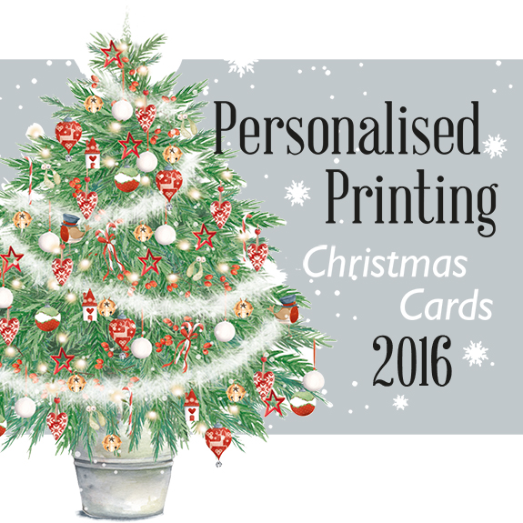 order personalised business xmas cards 2016