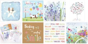 thinking of you greeting card collage