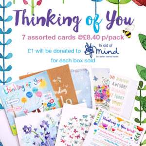 thinking of you greeting cards pack for thinking of you week by Phoenix Trading