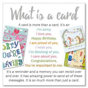 what is a card messages
