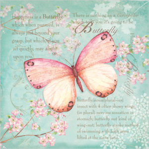 WS361 Butterfly Blossom greeting card