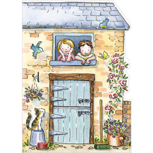 a242 stables pop out birthday card with horse