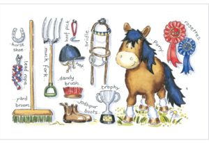 horse birthday cards A184 phoenix trading