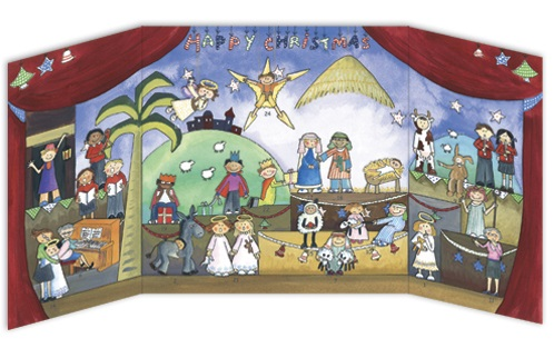 ADV18 Children's Nativity Play Religious advent calendar