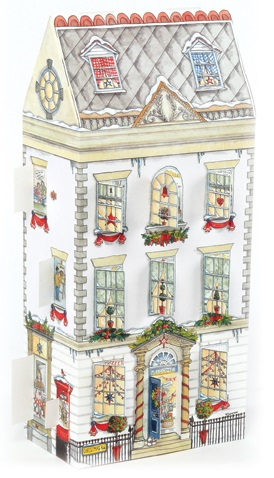 ADV24 Christmas Townhouse 3D Advent Calendar