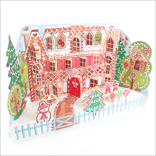 ADV30 Gingerbread House 3D advent calendar