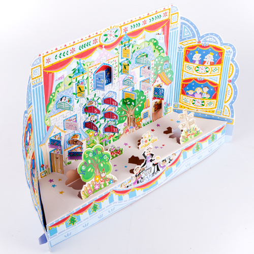 ADV30 Christmas Pantomime 3D advent calendar