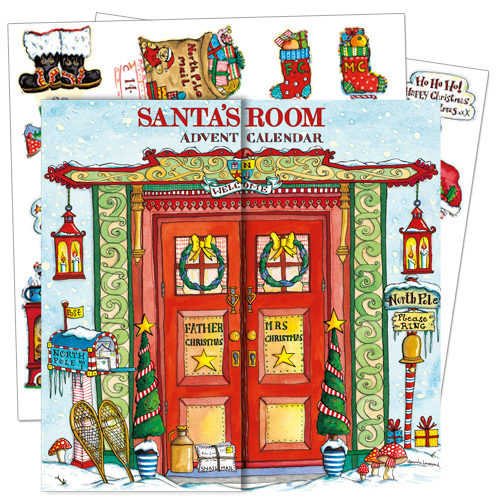 ADV40 Santa's Room Advent Calendar