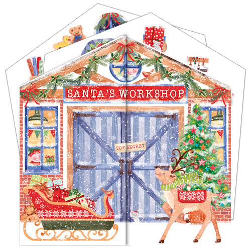 ADV40 Santa's Workshop Advent Calendar