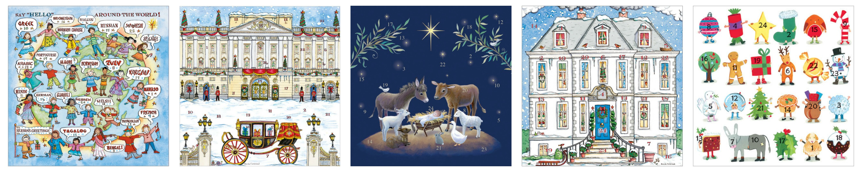 Phoenix Trading Advent Calendar Christmas Cards