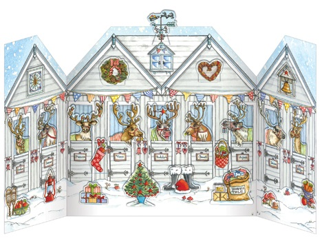 ADV23 Reindeer Stables advent calendar