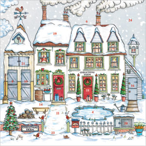 xm101 farmhouse advent calendar card