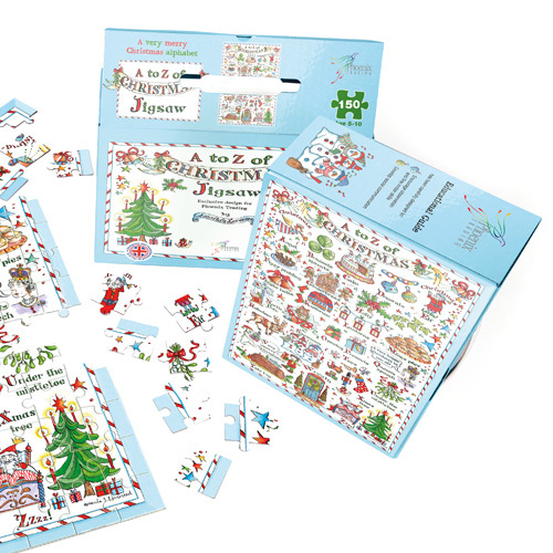 XGS01 A to Z christmas jigsaw puzzle amanda loverseed phoenix trading