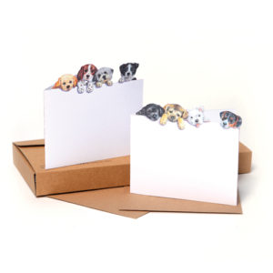 GP04 Little Puppies notecards