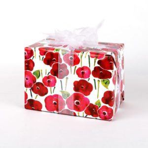 gwf154-poppies-giftwrap-folded-gift-example