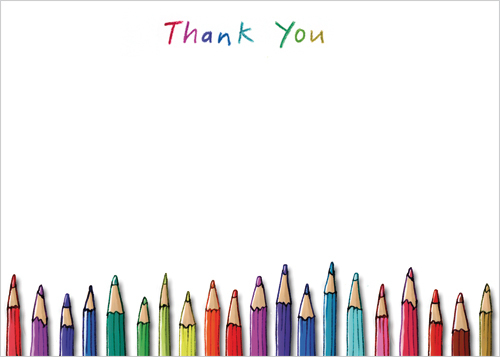 TY107 Pencils thank you