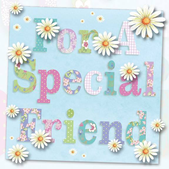 WS455 for a special friends i miss u friend greeting card