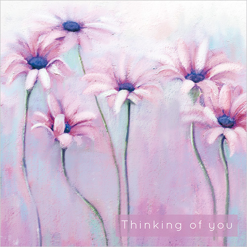 WS458 thinking of you daisies card