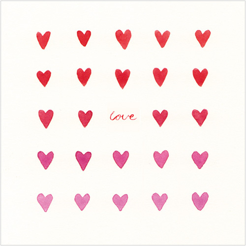 love wedding valentines greeting card hearts ws425