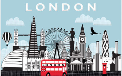 London Greeting Card Share Your Love of the UK Capital City