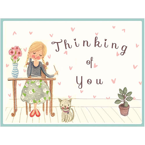 B040 thinking of you card