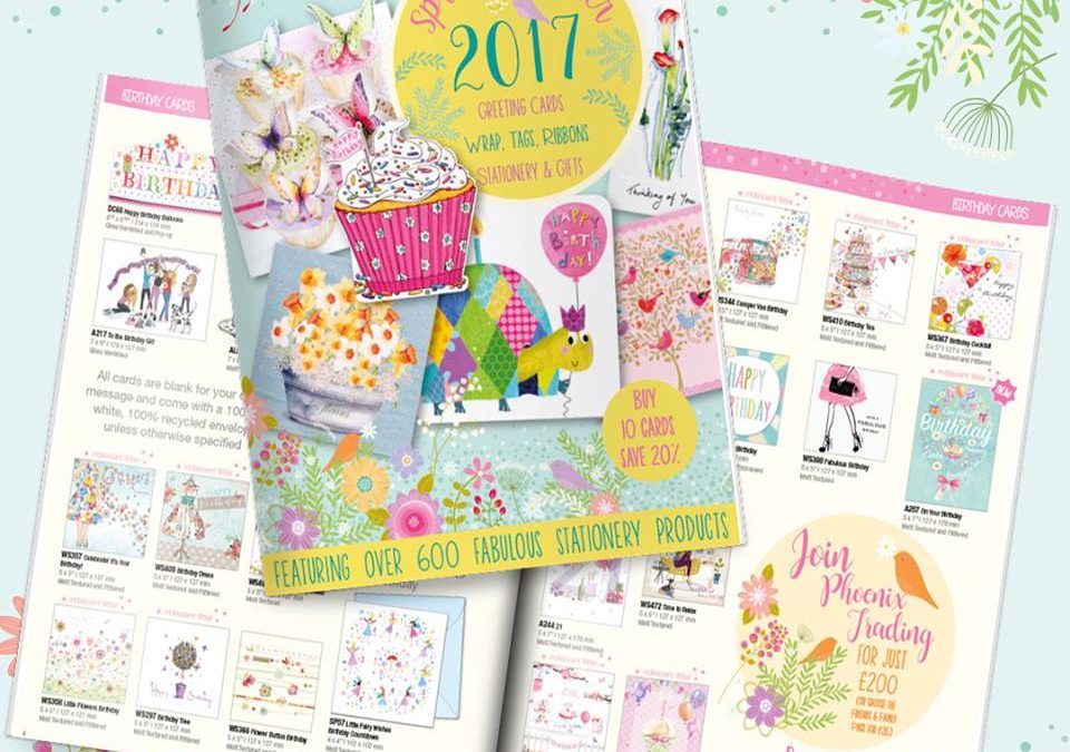 New Greeting Cards from Phoenix Trading Range for 2017