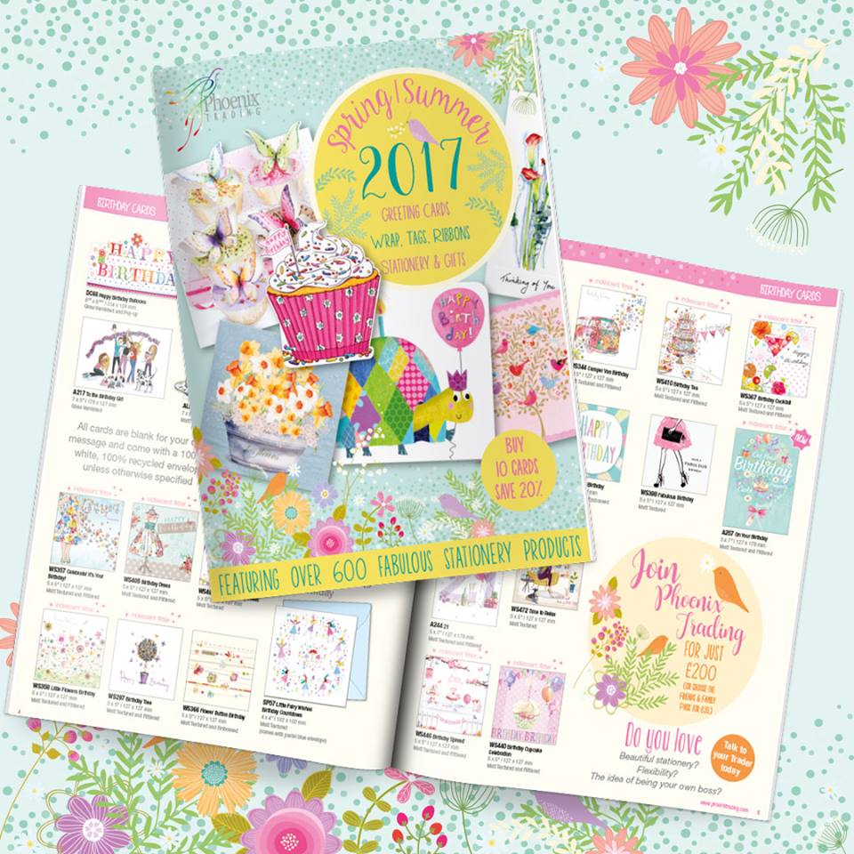 new 2017 phoenix trading brochure january release greeting cards stationery