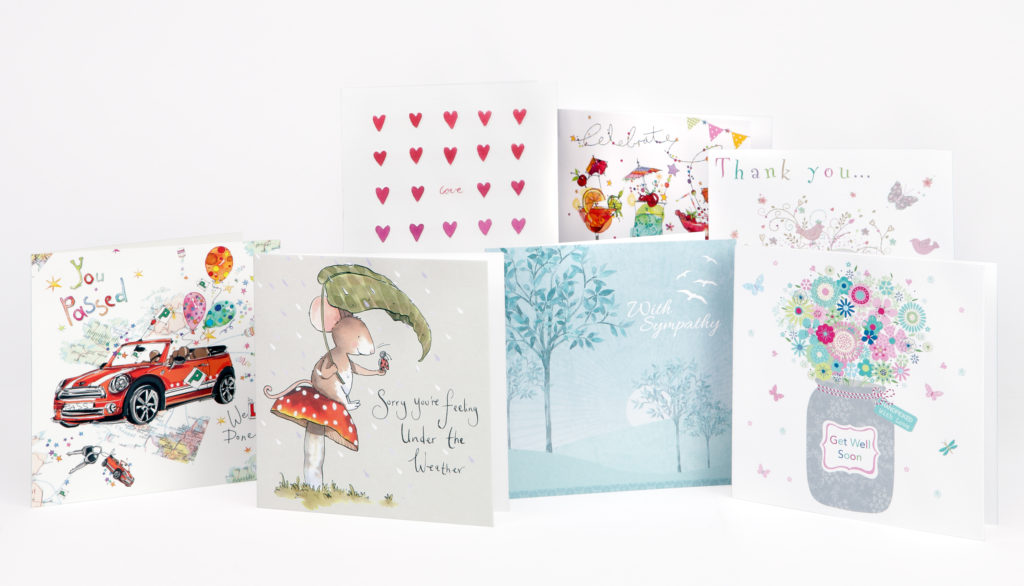 Special Occasions group shot cards