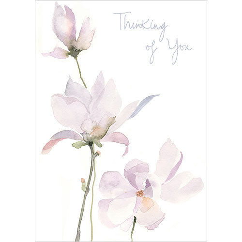 Thinking of You card magnolias