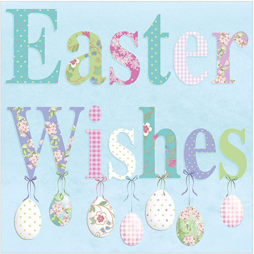WS480 Easter wishes card
