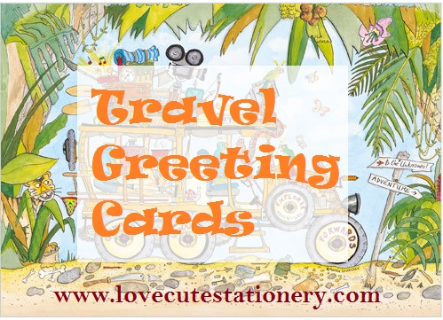 Travel Greeting Cards, Bon Voyage, Gap Year or Spirit of Adventure!