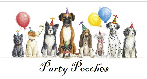 Party Pooches Dog Greeting Cards